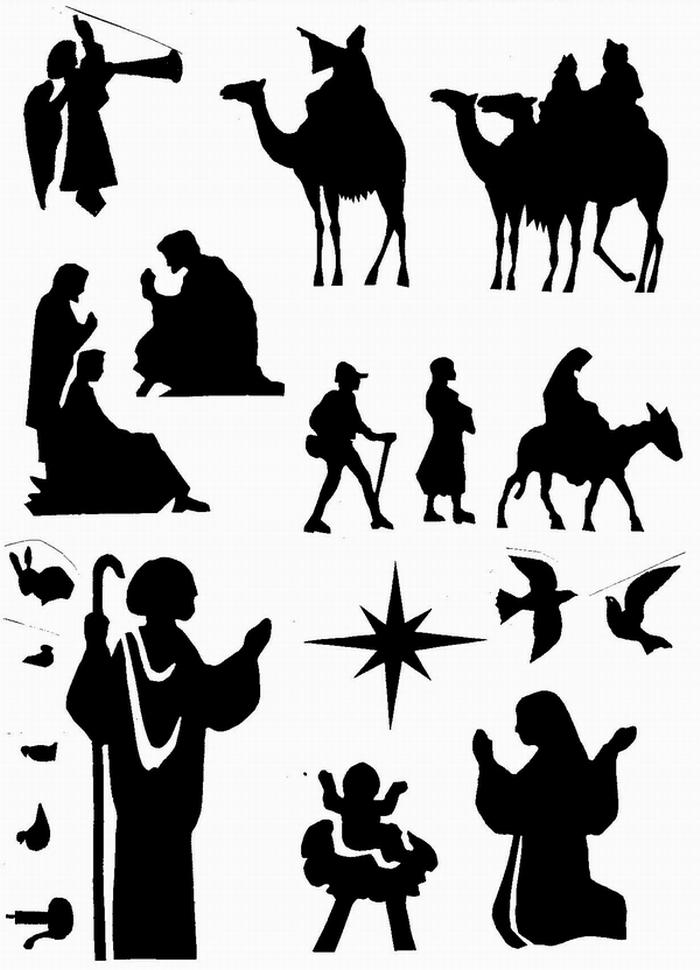 ana de austria religi n siluetas navide as