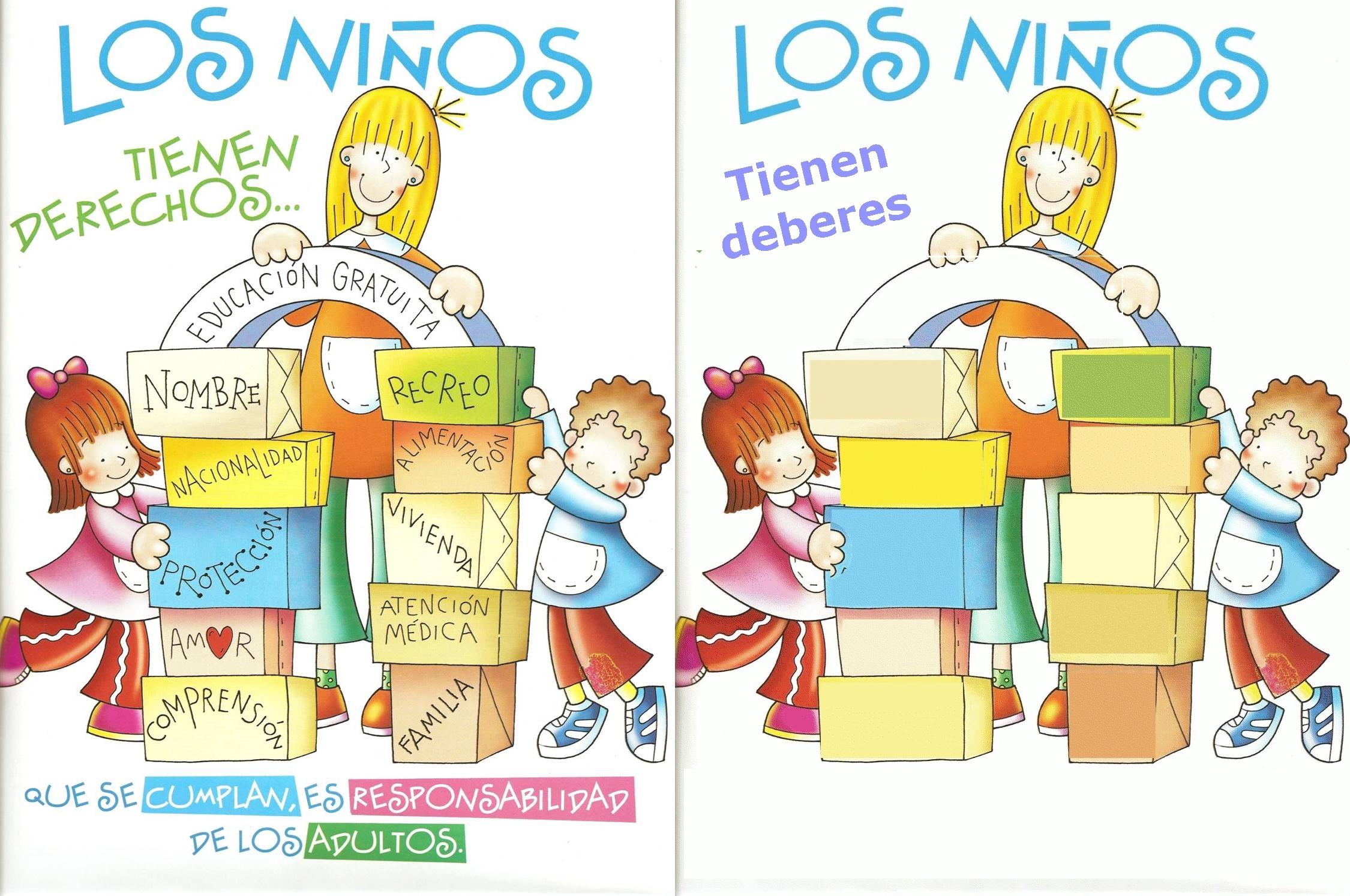 20 DE NOVIEMBRE: DERECHOS Y DEBERES DE LOS NIÑOS | Complemento de ...